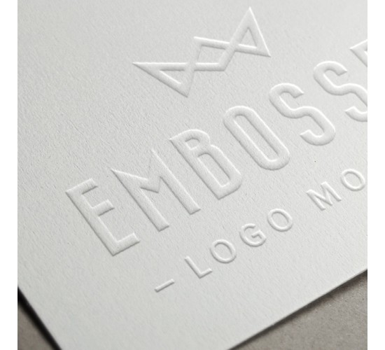Business Cards Full Colour 2 Sides 350gsm Embossed / Debossed