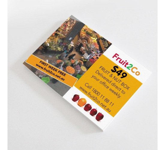 Postcards 100x150mm Full Colour 2 Sides Matt Laminate 2 Sides