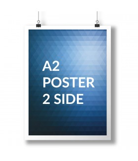 A2 Poster Full Colour 2 Sides