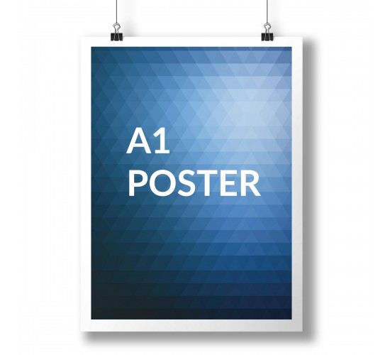 A1 Poster Full Colour 1 Side