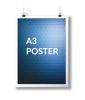 A3 Poster Full Colour 1 Side