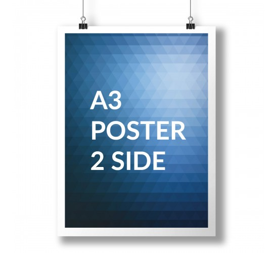 A3 Poster Full Colour 2 Sides