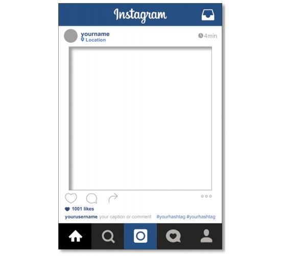 Instagram Selfie Cut Out