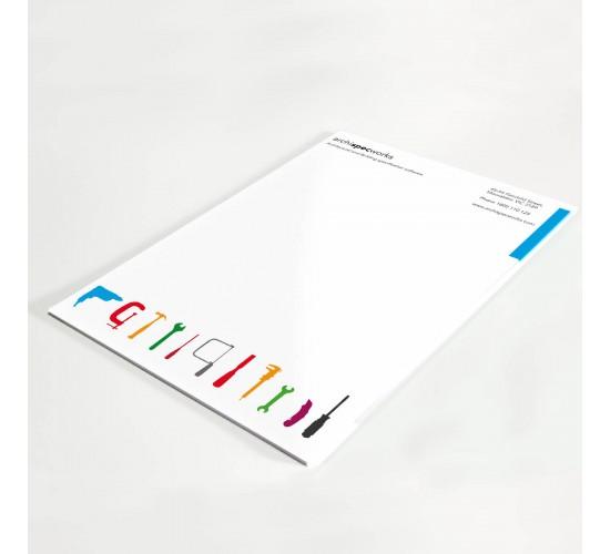 A4 Letterheads Full Colour 1 side 100gsm Laser Bond