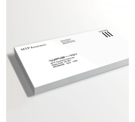 DL Envelopes 1 Colour Print